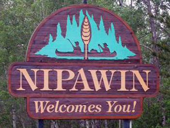 Nipawin welcomes you sign